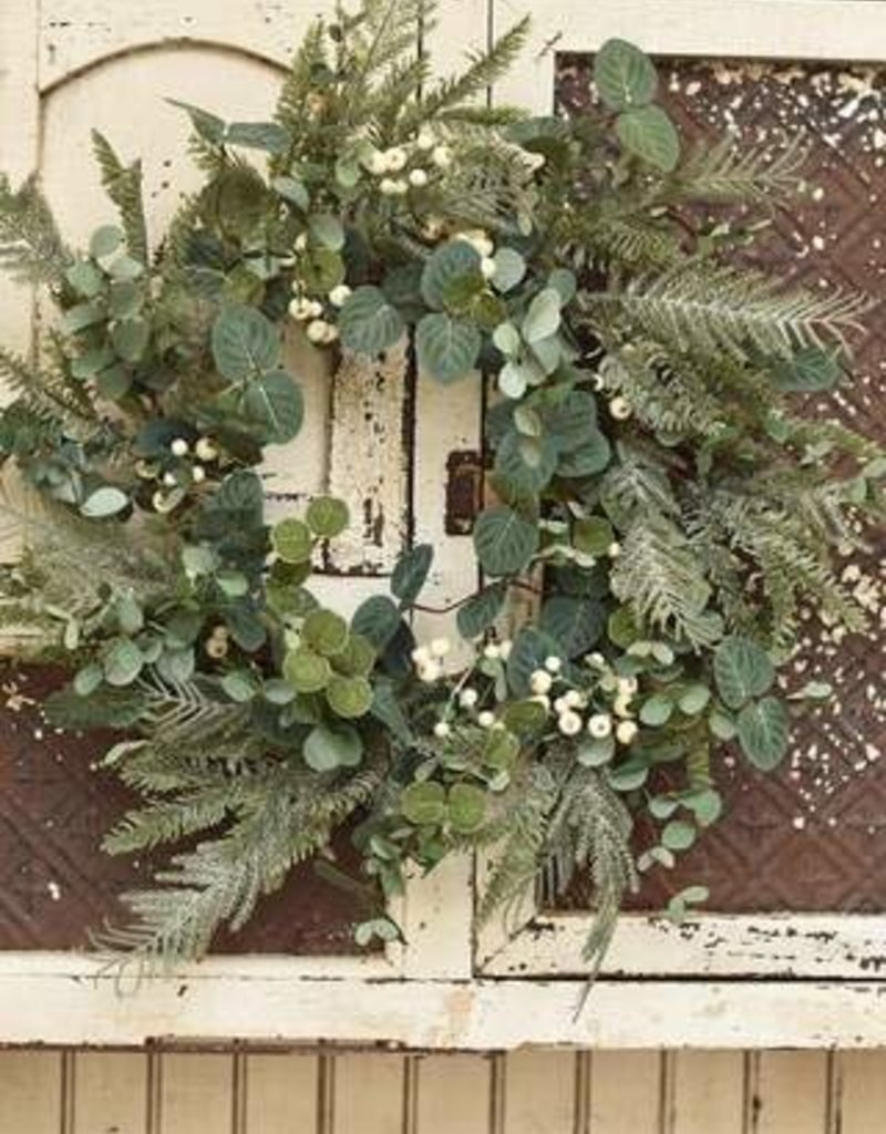 """24"""" Winter Wonderland Wreath"""