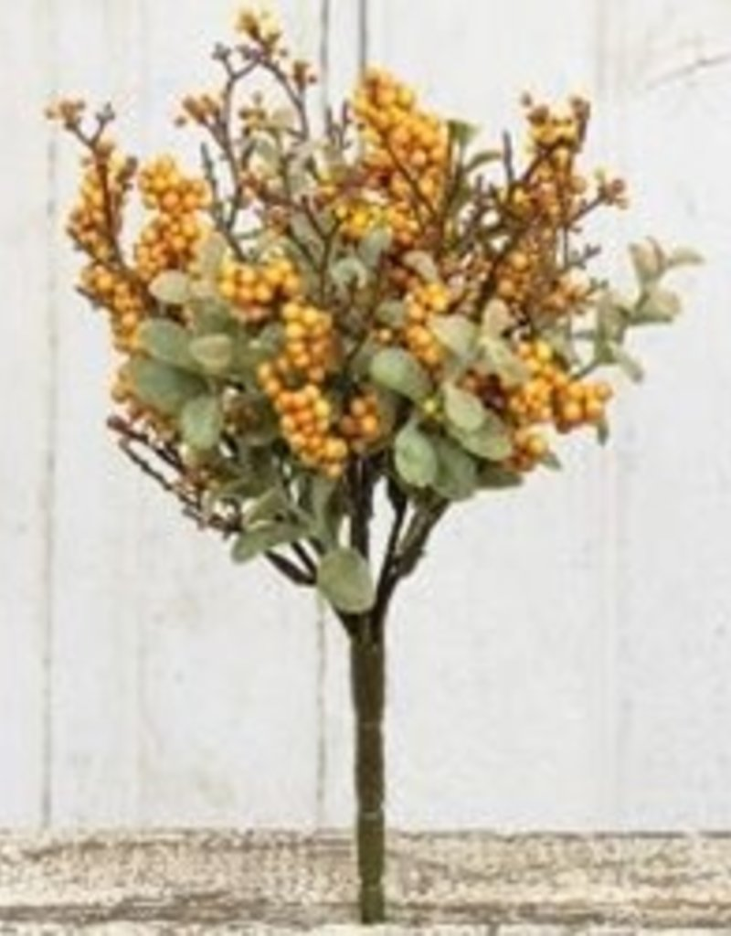 """10"""" Pebble Creek Bush, Mustard"""
