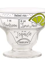Stemless Margarita Ingredient Glass