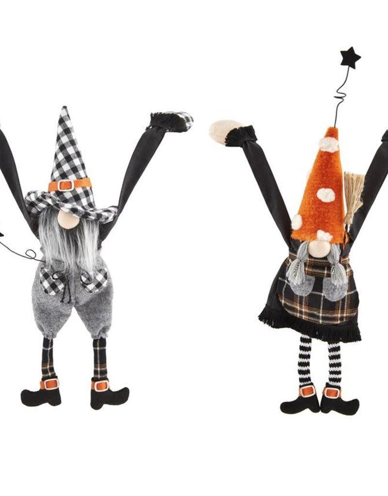 Dangle Arm Halloween Gnome