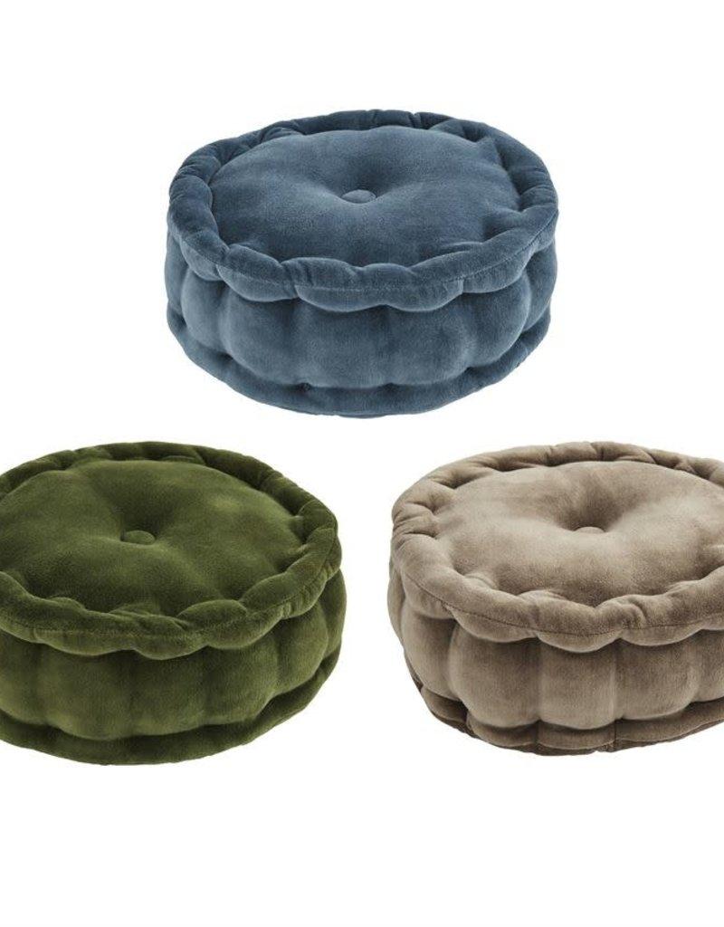 Round Velvet Pillow