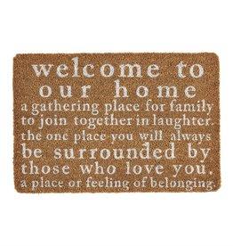Welcome Home Coir Mat