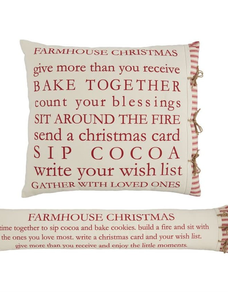 Xmas Defenition Pillow
