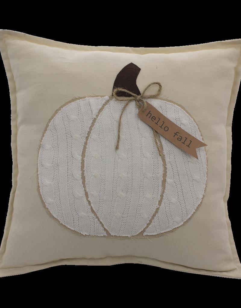 Hello Fall Pumpkin Pillow