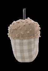 Cream Plaid Acorn