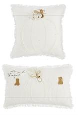 White Pumpkin Pillow