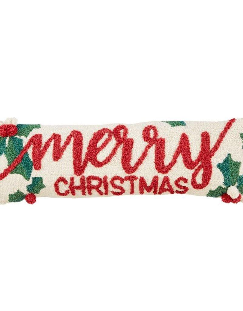 Holly Merry Xmas HW Pillow