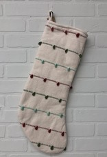 "22"" Stripe/Knot Stocking"