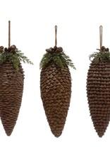 Pinecone Drop Ornament