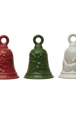 Ceramic Bell W/Holiday Image