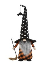 XL Witch Gnome, Black Hat