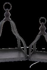 Galvanized Pyramid Open Lantern