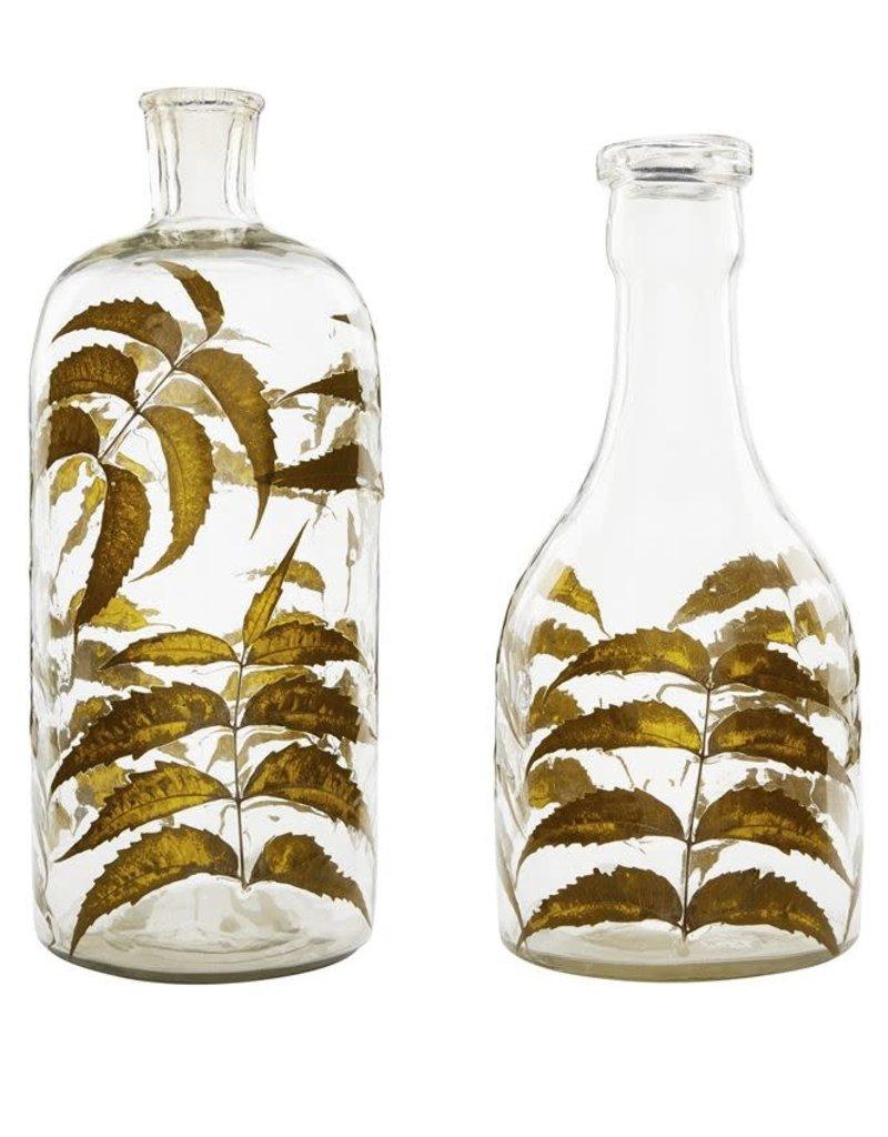 Leaf Glass Vase