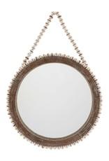 Large Beaded Mirror