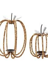 Beaded Pumpkin Lanterm