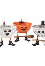 Tin Halloween Dip Set