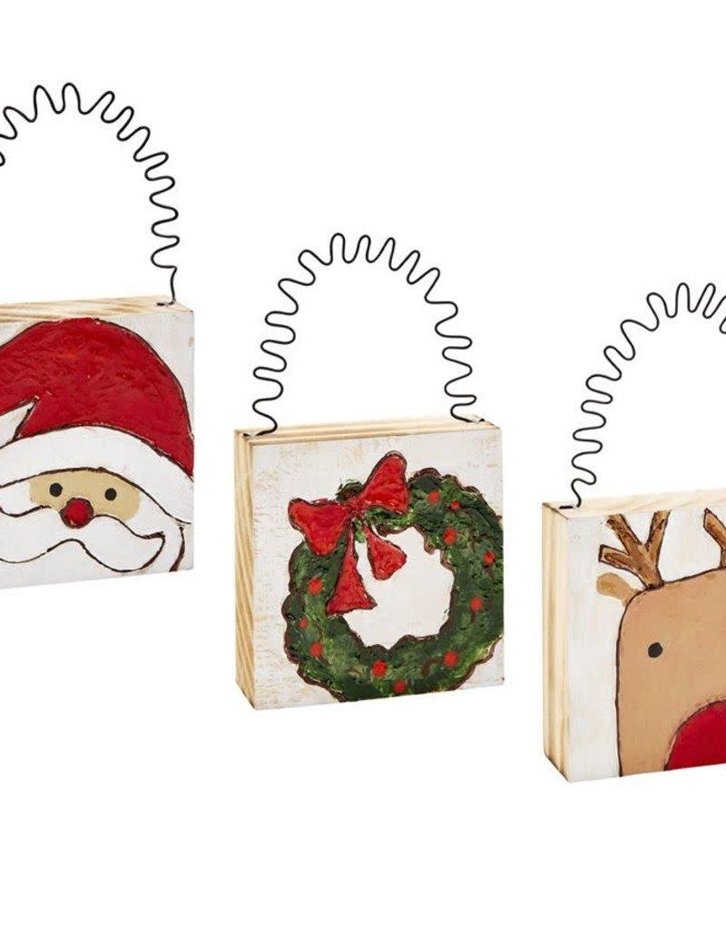 Christmas Block Ornament