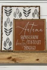 Wallpaper wood sign