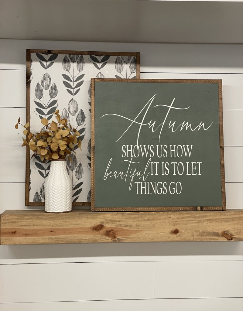 Fall Signs 25.5 x 25.5