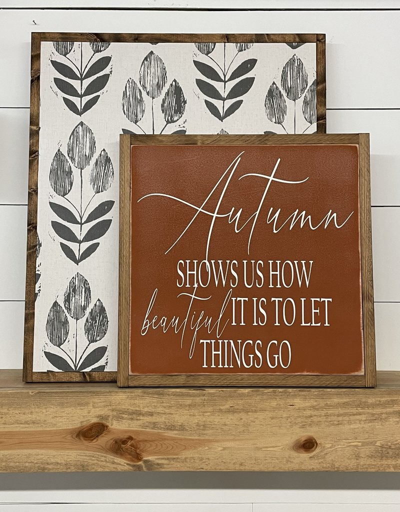 Fall Signs 17.5 x 17.5