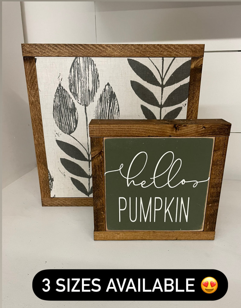 Fall Signs 7.5 x 7.5