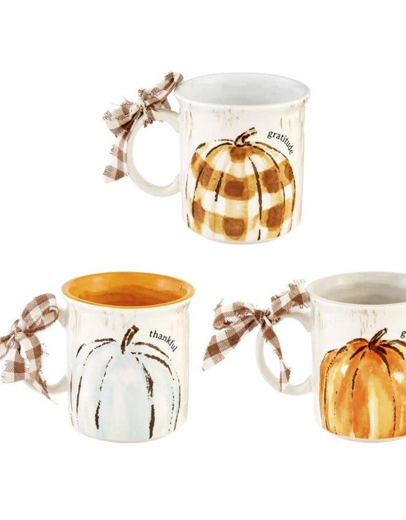 Oversized Pumpkin Mug