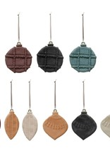"4.25""Clay Cookie Ornament, varies styles"