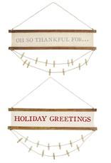 Reverse Photo Card Hanger