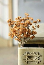 "10"" Orchard Blooms Bush, Mustard"