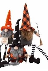 Dangle Leg Halloween Gnome