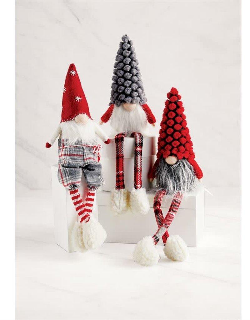 Dot Xmas Dangle Leg Gnome