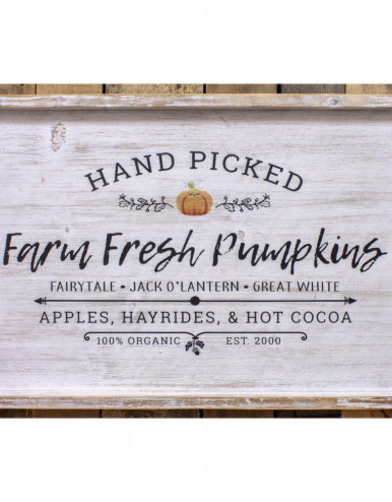 Farm Fresh Pumpkins Sign 16x24