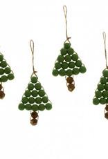 Green Tree Bead Ornament