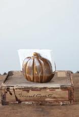 Stoneware Pumpkin Sponge Holder