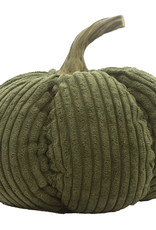 Green Corduroy Pumpkin