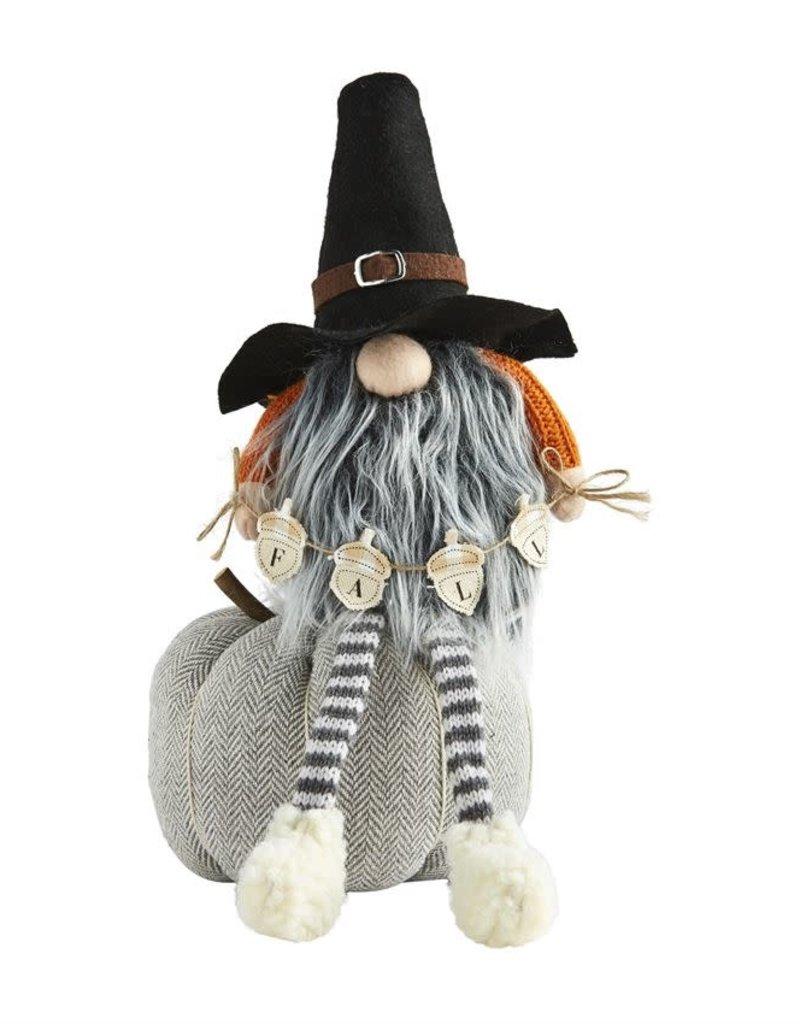 Pumpkin Dangle Leg Gnome