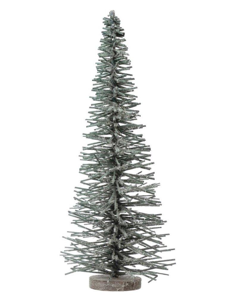 Poplar Sisal Brush Tree, Snow Finish