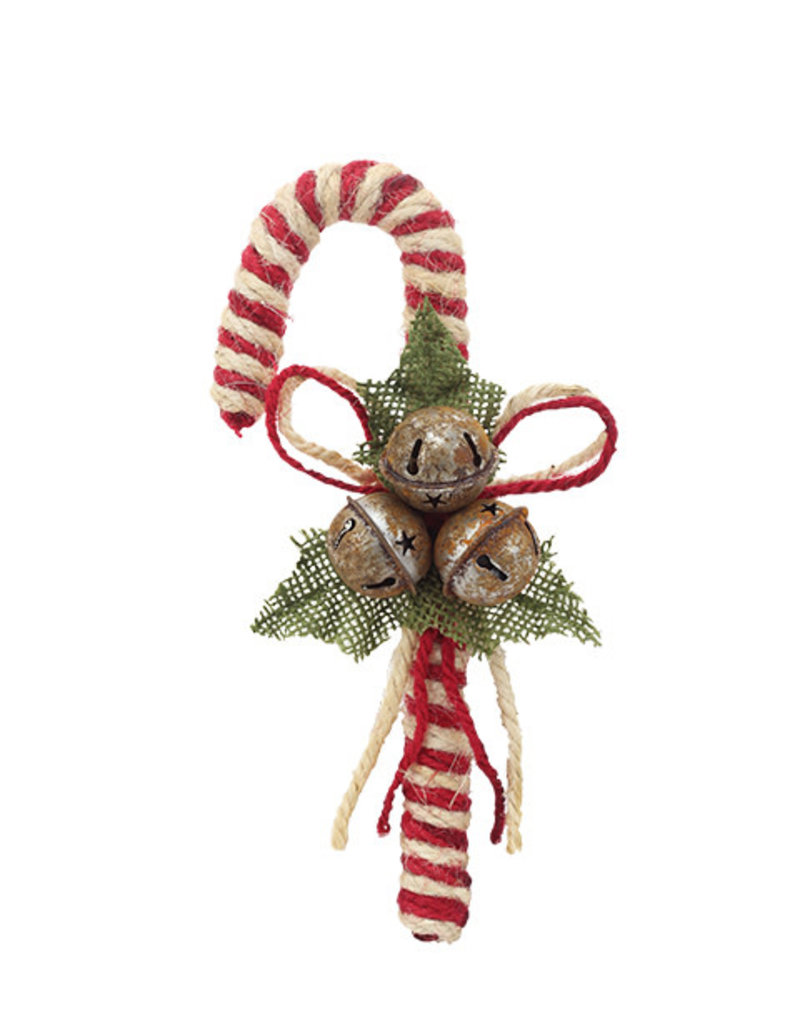 Small Burgundy Candy Cane
