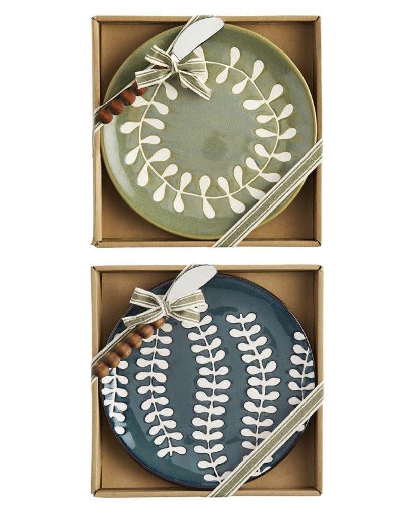 Leaf Cheese Set