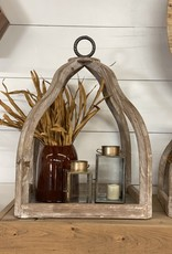 Wood and Metal Decorative (hanging) Trays