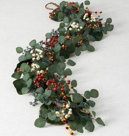 Eucalyptus /Berry Garland