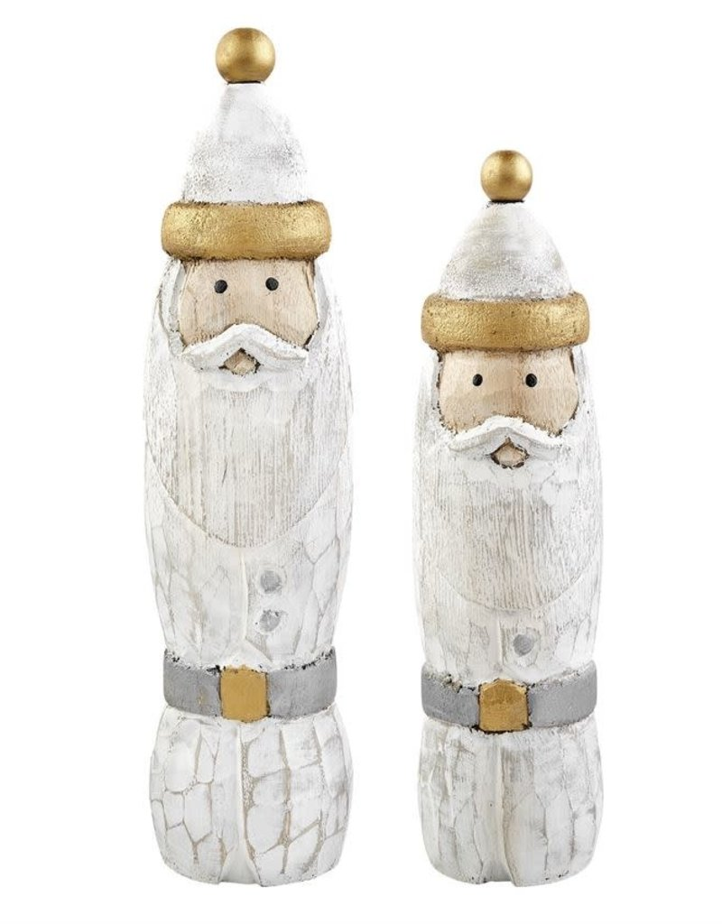 Short Santa Wood Sitter
