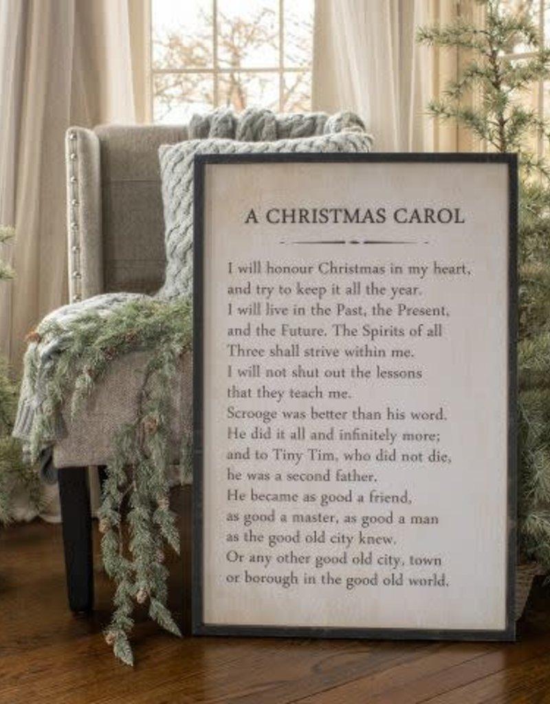A Christmas Carol Sign