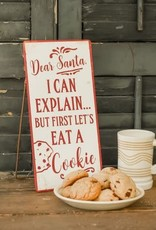 Eat a Cookie Standing Sign