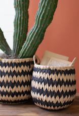 Tall Round Seagrass Basket