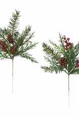 Fir Pine W/Berry Pick