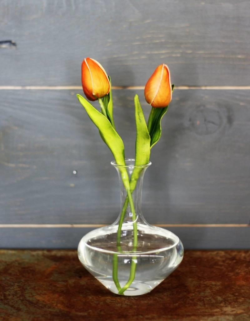 Clear Lab Bud Vase