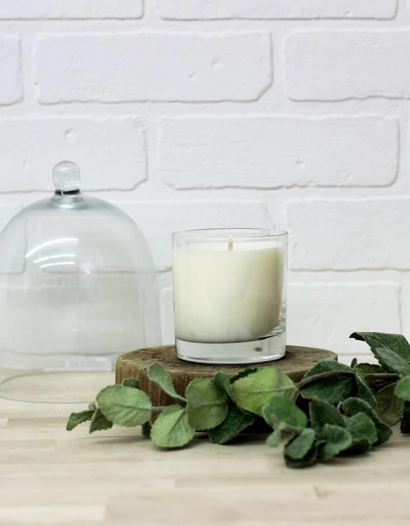 Glass Candle- 4 Scents available
