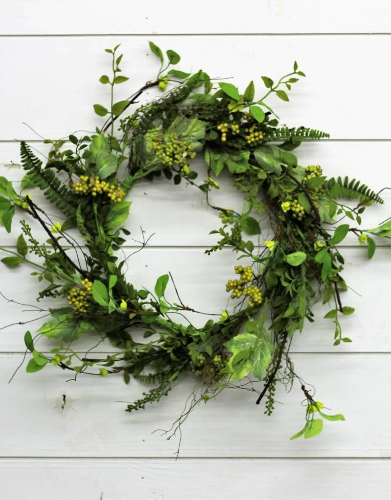 Large  Foliage Berry Wreath