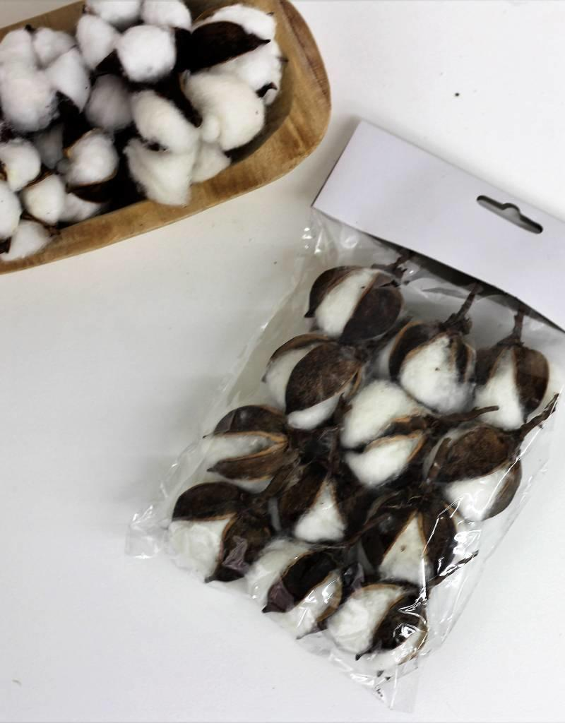 Cotton flower set (12)